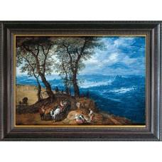 """Brueghel, Jan d. Ältere """"Rückkehr vom Markt"""""""