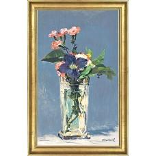 Manet, Edouard: NELKEN UND CLEMATIS