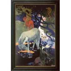 """Gauguin, """"Weisses Pferd"""""""