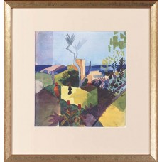 Macke August Landschaft am Meer