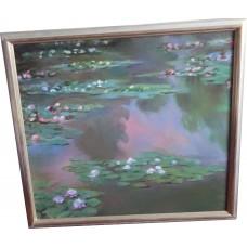 Claude Monet Seerosen Ölbild  80% Nachlass